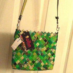 Shopgirl Candy Wrapper Handbag Shoulder Purse